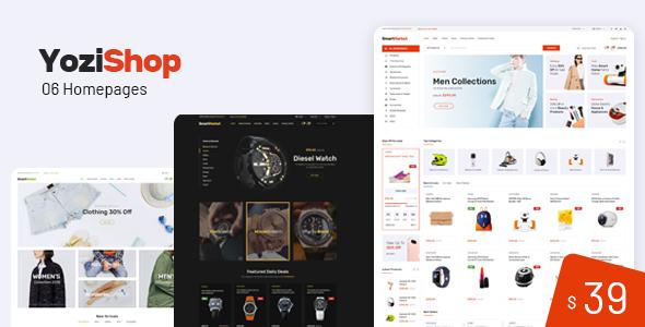 Image of Yozi - Multipurpose Electronics WooCommerce WordPress Theme