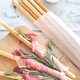 Breadsticks wrapped in ham - PhotoDune Item for Sale