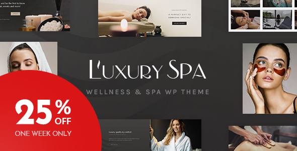 Luxury Spa - Beauty Spa & Wellness Resort Theme - Health & Beauty Retail