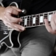 Musician Uses Tapping Technique To Play the Electric Guitar - VideoHive Item for Sale
