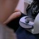 Skinner Using Sewing Machine for Stitching Fur Skin at Atelier - VideoHive Item for Sale