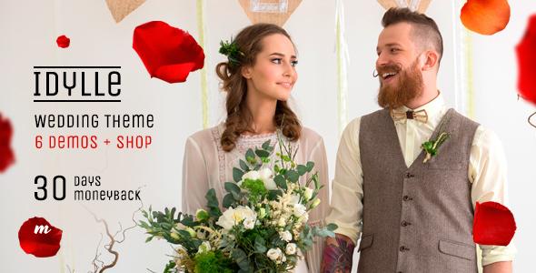 Wedding Theme | Idylle Wedding - Wedding WordPress