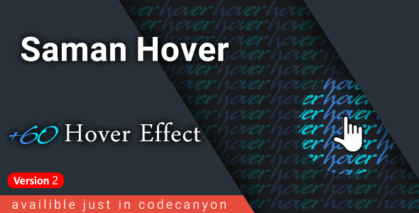 Saman Hover - +60 link hover effects - CodeCanyon Item for Sale