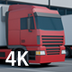 Camera Dolly Moves Near Euro Semi Trailers - VideoHive Item for Sale