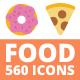 560 Food Icons