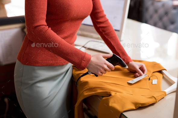Young woman at work - Stock Photo - Images