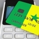 Payment Terminal with Credit Card Featuring Flag of Senegal - VideoHive Item for Sale