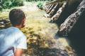 Child admiring nature - PhotoDune Item for Sale
