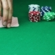 Poker Player Shows His Good Pair Hand for Win and Doing Bet - VideoHive Item for Sale