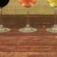 White Wine, Rose Wine and Red Wine on Wooden Table - VideoHive Item for Sale