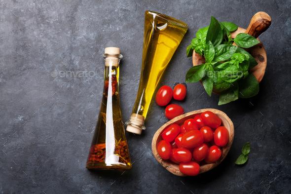 Italian cuisine - Stock Photo - Images