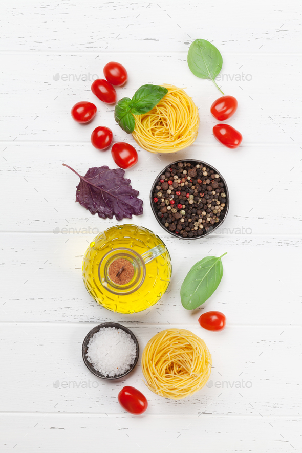Italian cuisine - Stock Photo - Images