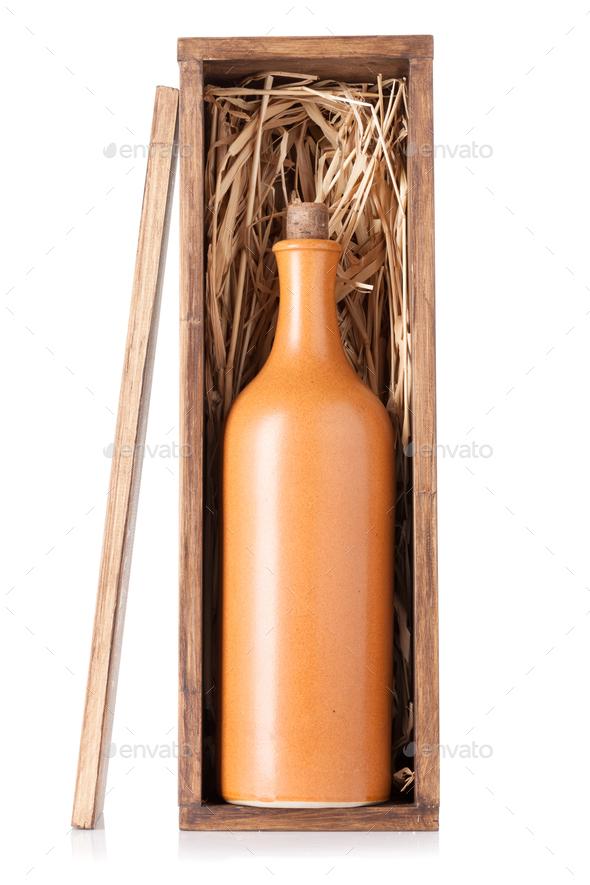 Wine bottle - Stock Photo - Images