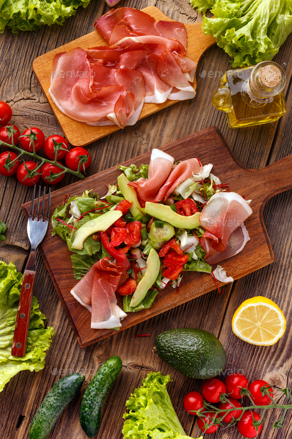 Mix of salad - Stock Photo - Images