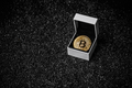 Golden bitcoin coin - PhotoDune Item for Sale