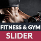 Fitness & Gym Web Slider - GraphicRiver Item for Sale