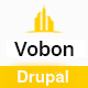 Vobon | Construction And Business Drupal 8 Theme
