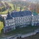 Bird's-eye View of the Old Pidhirtsi Castle in Ukraine