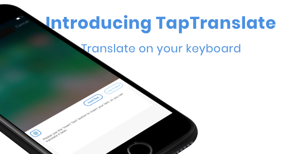 TapTranslate - Translator Keyboard Template [iOS- Swift] - CodeCanyon Item for Sale
