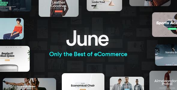 Image of June - Multi-Purpose Responsive WooCommerce Theme