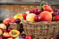 Fresh ripe summer berries and fruits - PhotoDune Item for Sale