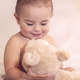 Cute baby with a bear - PhotoDune Item for Sale