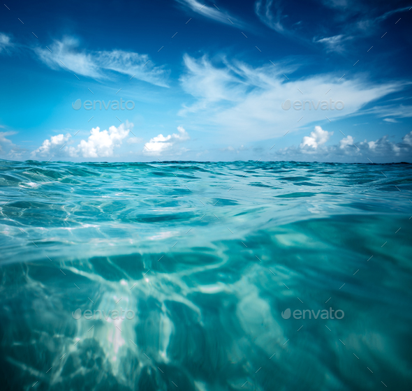 Beautiful seascape - Stock Photo - Images