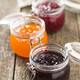 Fruity jam jelly in jar. - PhotoDune Item for Sale