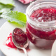 Raspberry jam jelly. - PhotoDune Item for Sale