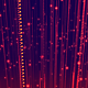 Abstract Bright Red Falling Particles - VideoHive Item for Sale
