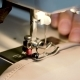 Working with Sewing Machine - VideoHive Item for Sale