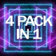 Abstract Saber VJ Loops Pack - VideoHive Item for Sale