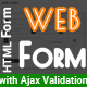 Free Download Web Form - Multi Purpose HTML Form with jQuery Validation Nulled
