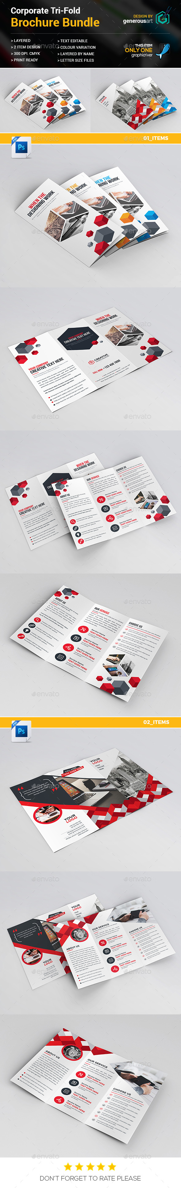Tri-fold Bundle_2 in 1 - Corporate Brochures