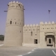 Ancient Fort in Desert of Liwa United Arab Emirates Stock Footage Video