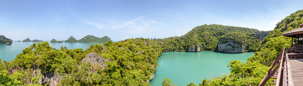 Panorama Mu Ko Ang Thong National Park - Stock Photo - Images