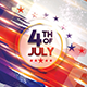4th of July Photoshop Flyer Template - GraphicRiver Item for Sale