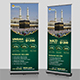 Hajj Promotional Roll-Up Template