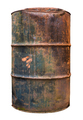 Isolated Rusty Old Barrel - PhotoDune Item for Sale
