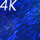Abstract Blue Flying Particles with Light Rays - VideoHive Item for Sale