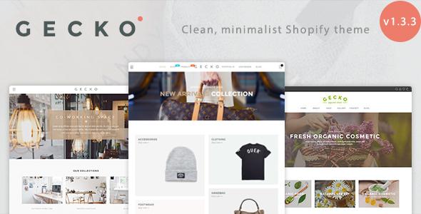 Gecko – Responsive Shopify Theme
