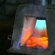 Heating of Metal in a Gas Furnace of a Blacksmith - VideoHive Item for Sale