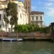 View of Venice From Boat Sailing on Grand Canal
