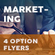 Marketing Flyers – 4 Options