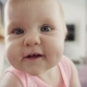 Adorable Baby Face Portrait of Happy Child Exploring World - VideoHive Item for Sale