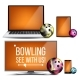 Bowling Application Vector - GraphicRiver Item for Sale