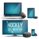 Hockey Application Vector - GraphicRiver Item for Sale