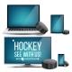 Hockey Application Vector