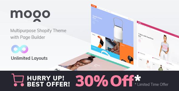 Mogo – fastest responsive fashion Shopify theme