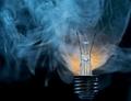 Fault - broken electric bulb - PhotoDune Item for Sale